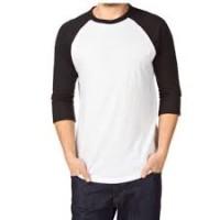 T-shirt Raglan Lengan 3/4