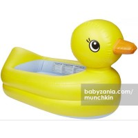Munchkin White Hot Inflatable Safety Tub - Duck