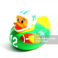 Munchkin White Hot Safety Bath Duck - Football