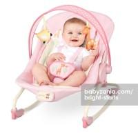 Bright Starts Comfort and Harmony Rocker Baby Bouncer - Girafaloo