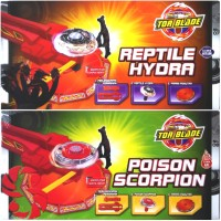 Jual Paket Lengkap Tor Blade Reptile Hydra /Poison Scorpion-Gasing Petarung Murah