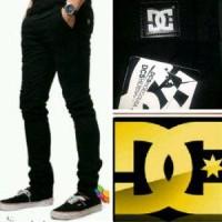 DC Jeans Skinny HITAM PEKAT| Celana | Jeans | Denim