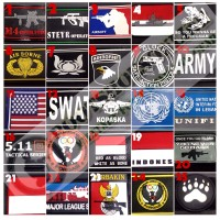 Patch rubber military airsofter outdoor