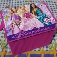 Tempat Mainan Anak / Toy Box Barbie