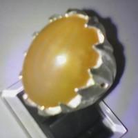 cincin anggur kuning junder mata tombak natural unik