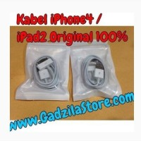 KABEL DATA USB CABLE ORIGINAL ORI 100% Apple for iPhone 3GS 4 4G 4S iPod iTouch iPad2/3 iPhone3gs iPhone4 iPhone4s iPad2 iPad3