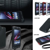 Jual Love Mei Powerful Armor Cover Case Casing Sony Xperia Z1 L39H