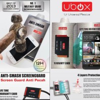 UBOX Anti Smash 0.25mm Screen Protector HTC One M8