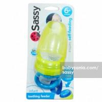 Sassy Teething Feeder - Yellow