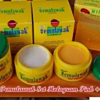 ORIGINAL Paket Cream (Day+Night) + Sabun Temulawak Penghilang Jerawat