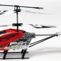 R/C Helicopter HX 733 Ghyroscope 3,5 Channel( Hitam ,Merah)+Adaptor