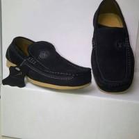 Sepatu Pria Kulit Asli PREDATOR Hitam Casual Branded
