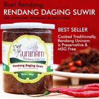 Rendang Daging Suir Uninam 350gr