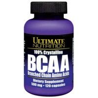 Ultimate Nutrition BCAA 100 % crystalline, 500 mg 120 capsules