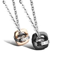 Kalung Couple Titanium TC037