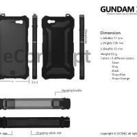 Aluminum Gorilla Glass Case for iPhone 6