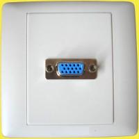 faceplate VGA 1 hole