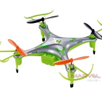 EXCEED AF915 - 4 CH. 2.4 Ghz- 6 Axis Gyro Mini DRONE - Green