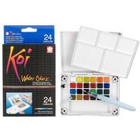Sakura Koi Watercolor Pocket Field Sketch Box 24