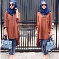 grosir baju Set Hijab Sonia