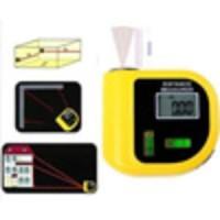Alat Ukur Laser Tape Meter Panjang Ruang Bangunan + Suhu + Water Pass