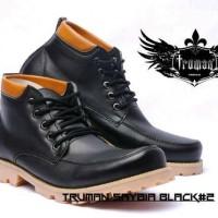 Sepatu Boot Trumant Black 3 Model
