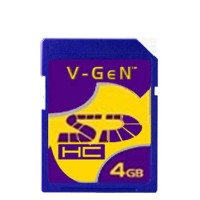 V-GEN SDHC/SD Card 4GB
