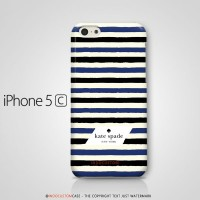 Kate Spade New York Stripes iPhone 5C Casing Custom Hard Case