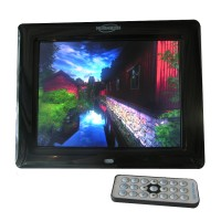 Mediatech 8 inch Digital Photo Frame Multifunction - Hitam