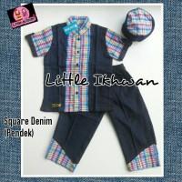 Koko Anak Little Ikhwan-lengan pendek-kode LI 01 uk.S