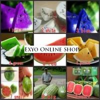 Benih Buah Semangka / Watermelon 9 Jenis berbeda Jenis Mix Campur