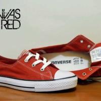 Sepatu Converse Murah Wanita 3 Lubang Warna Merah
