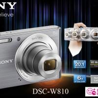 SONY Cyber-shot DSC-W810 Free Antigores+Case | Sony camera pocket