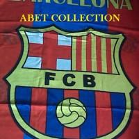 Handuk Mandi Barcelona Dengan Bordir nama