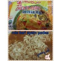 mie kari ayam  from singapore