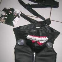 Anime Cosplay Tokyo Ghoul Kaneki Ken Mask / topeng cosplay import