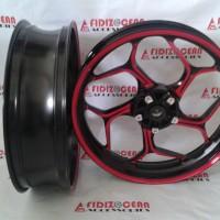 harga Velg Axio Cb150r Or New Vixion 4.5-3.0 Red Black Tokopedia.com