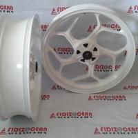 Velg Axio Cb150r Or New Vixion 4.5-3.0 White Or Full Black