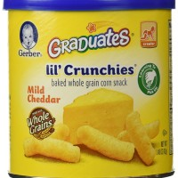 Gerber Graduates Lil Crunchies - Mild Cheddar