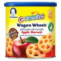 Gerber Graduates Wagon Wheels - Apple Harvest