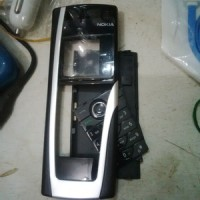 Casing Nokia 9500 Communicator Kw1 Non Original Non Tulang Hitam