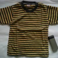 Baju Kaos Anak Salur Garis Lidi  size S-M
