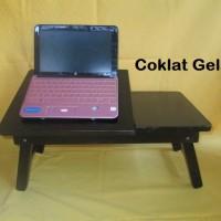 Meja Laptop Kayu Lipat Minimalis