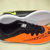Sepatu Futsal Nike ELASTICO FINALE Orange Black Indoor