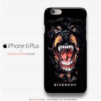 Givenchy Rottweiler iPhone 6 Plus Cover Hard Case