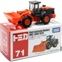 DieCast Takara Tomy No.71 Hitachi Construction Machinery Wheel Loader