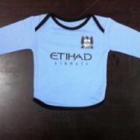 Baju Bayi Kaos Bola Manchester City