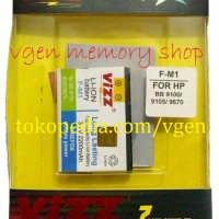 Battery Blackberry PEARL 2200MAH VIZZ long lasting Baterai BB EM1 9100 9105 Style 9670