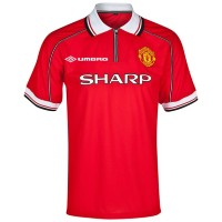 Jersey Manchester United Home 1998 1999 Treble Winners