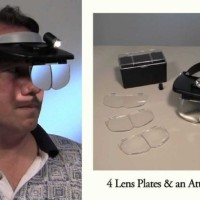Light Head Magnifying Glass MG-81001-A